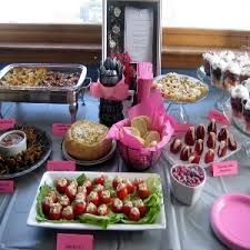 baby shower lunch menu ideas google search