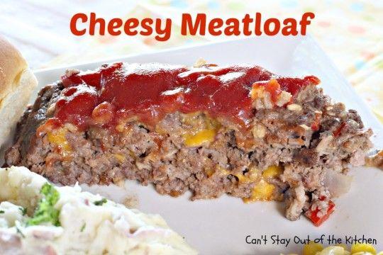 Cheesy Meatloaf - IMG_6731.jpg | Favorite Recipes | Pinterest