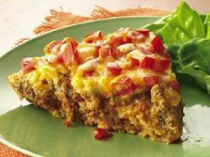 Taco pie | health | Pinterest