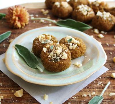 Inspired Edibles: Sweet & Savoury Maple Pumpkin Bites with Fresh Sage ...