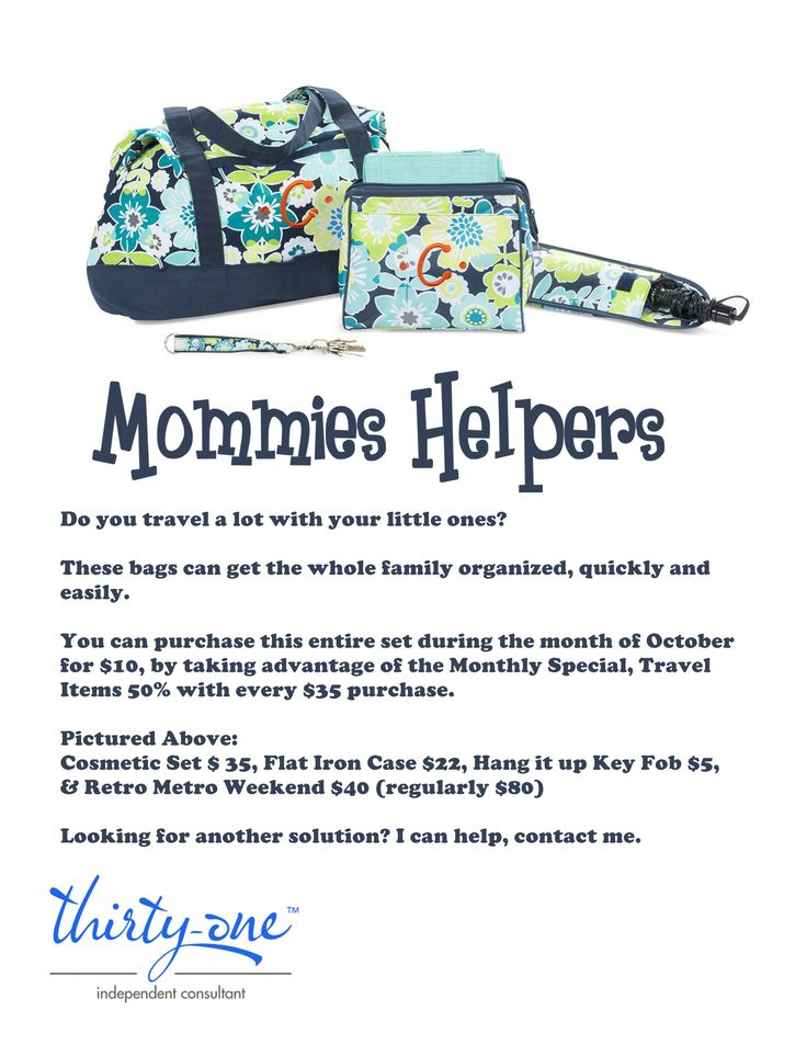 Thirty-One Fundraiser Flyer