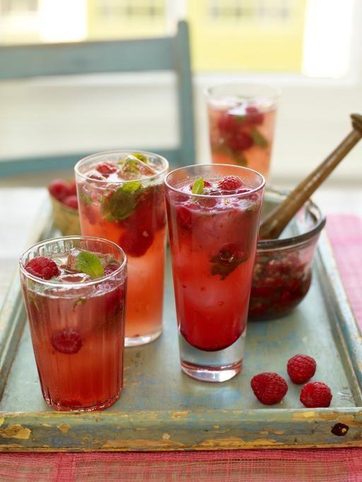 raspberry & ginger fizz | Jamie Oliver | Food | Jamie Oliver (UK)
