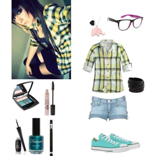 Simple cute emo | outfitsu2665 | Pinterest