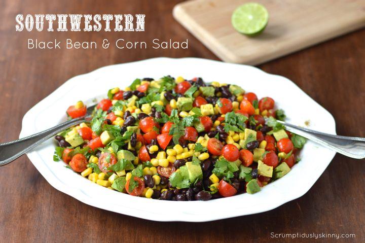 Summer Parties: Southwestern Black Bean & Corn Salad | Recipe