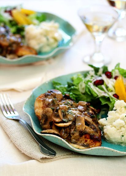 Chicken Marsala with Sage and Thyme | Recipe