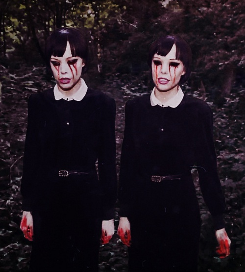 Creepy Twins The Abject And The Opulent Pinterest