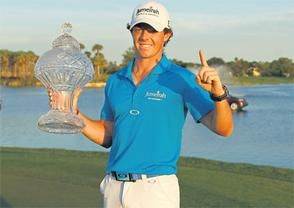 ... Tom Gillis, winning the Honda Classic with a score of eight under par