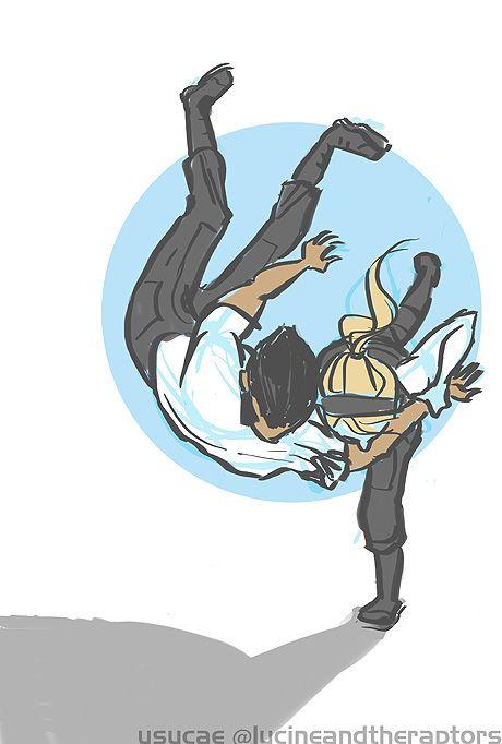 Judo shoulder throw me3 judo throw by ysucae deviantart com on