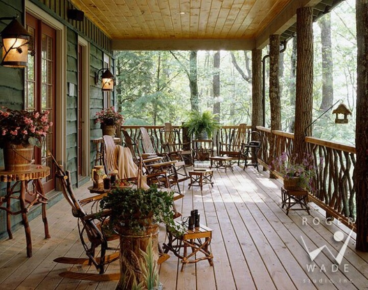 Country Look Porch Country Living Pinterest
