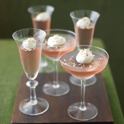 This indulgent champagne jelly is the perfect finale to a dinner party ...