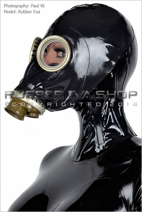 Vid, woman gas mask porn mme