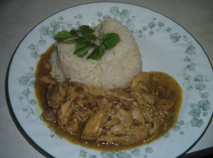 Coconut Curry Chicken with Basmati Rice | WHAT'S COOKIN' Y'ALL | ...