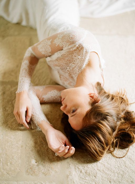 Claire Pettibone Bridal '12 Campaign. not sure about the pose...but the dress looks pretty!