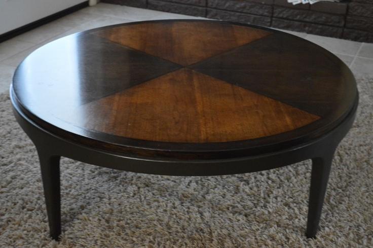 Round Coffee Table DIY Furniture Pinterest
