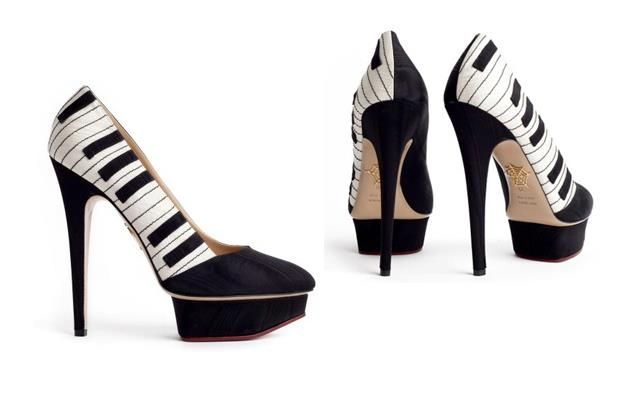 Charlotte Olympia - collection 2011  THEY HIT THE RIGHT NOTE!