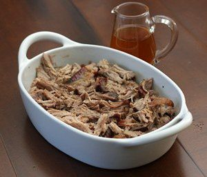 North Carolina Style Pulled Pork | Recipe
