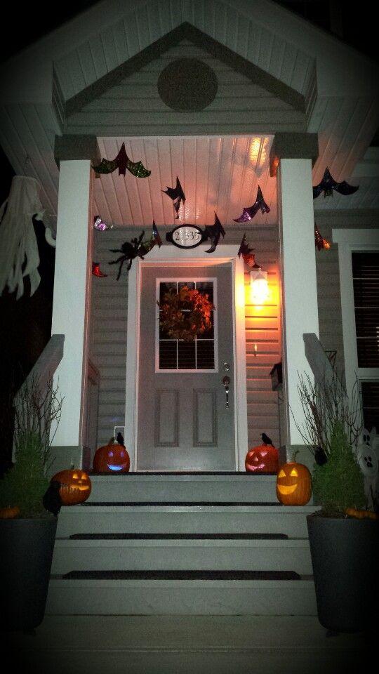 Halloween front door decorations - Front Door Halloween Decorations
