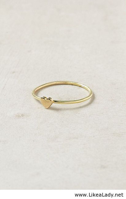 simple gold ring jewerly