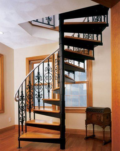 Spiral staircases for small spaces shopper 39 s guide - Spiral staircases for small spaces minimalist ...