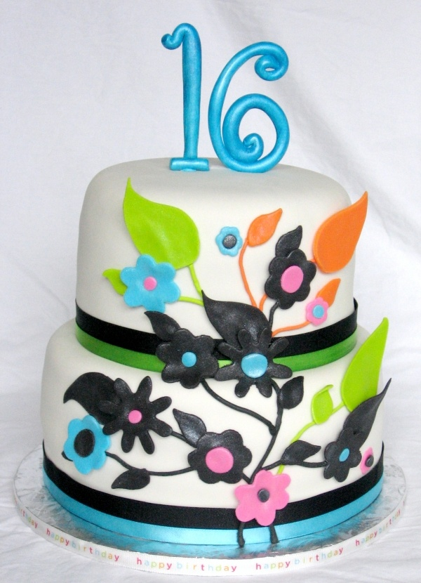 16th birthday cake images