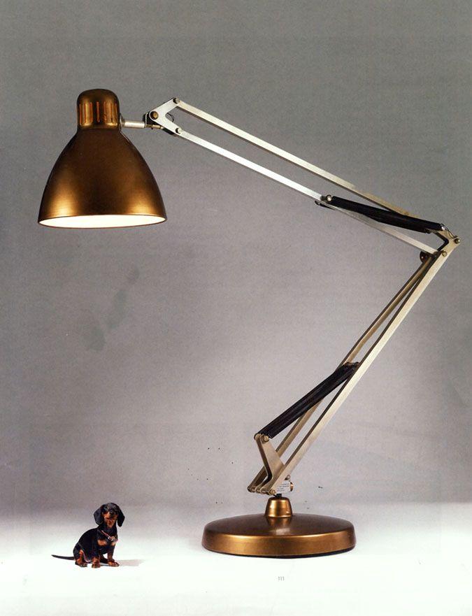 Giant anglepoise floor lamp maison pinterest - Giant anglepoise lamp ...