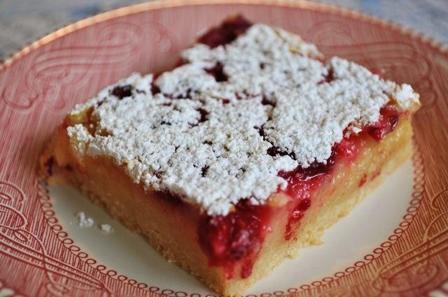 raspberry lemon bars | My Sweet Temptations | Pinterest