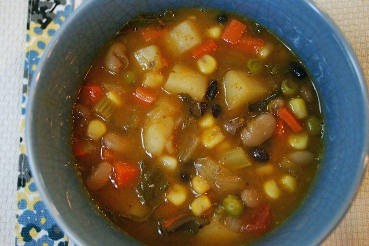 Winter Vegetable soup | Healthy Crock Pot | Pinterest