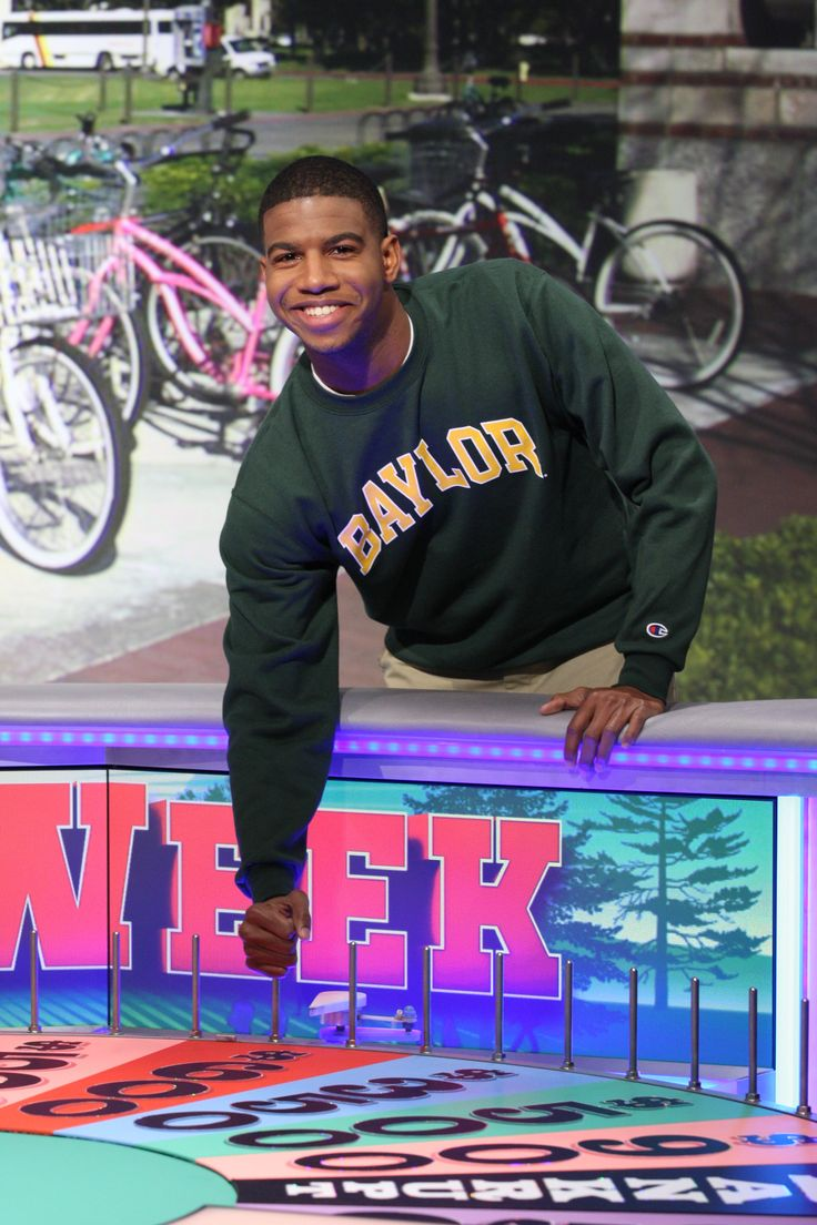 In a month's time, 3 #Baylor Bears -- 2 alums, plus current student Omari Williams (pictured) -- have appeared on Wheel of Fortune. (click for details & video) #BaylorEverywhere