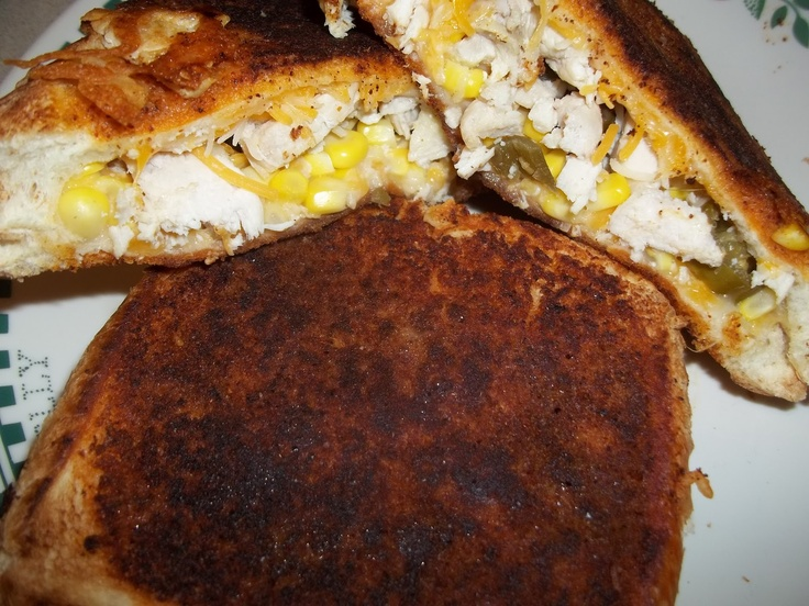 RV Life and Food: Mexican Grilled Cheese Sandwich