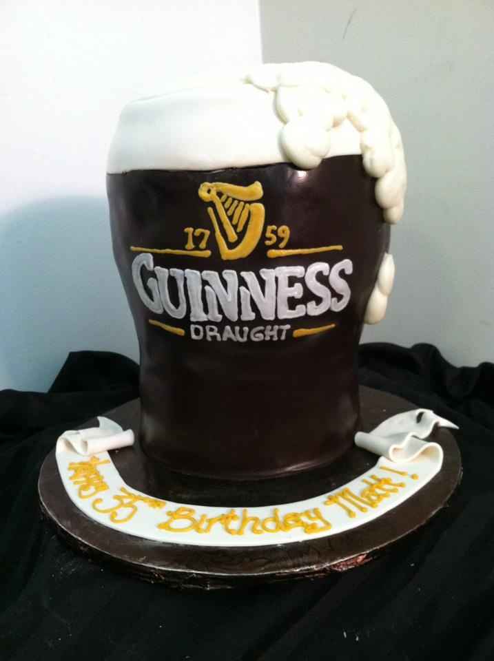 Guinness cake by Luscious Layers Bakery | Amazing Sweets | Pinterest