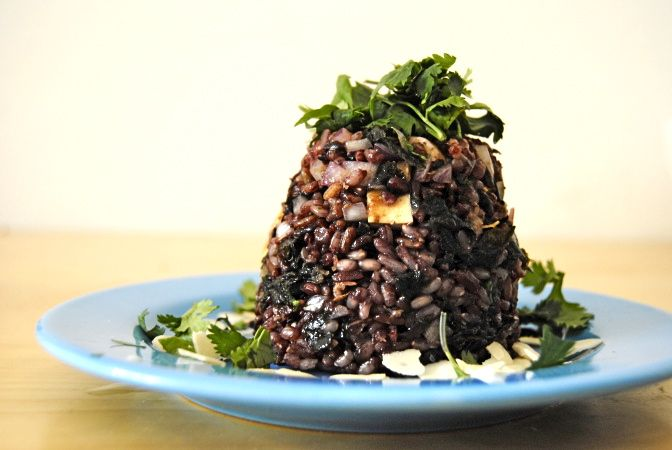 Wild Rice, Tofu, & Seaweed Salad | gf, df, delicious | Pinterest