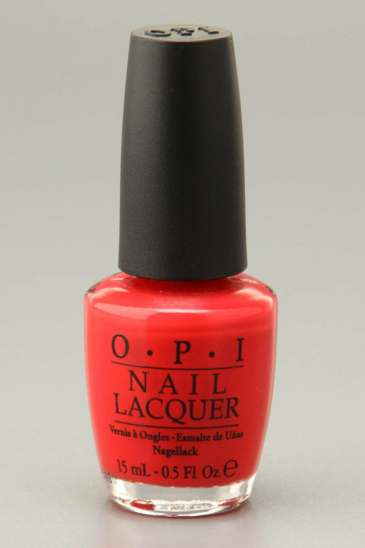 OPI Nail Polish In - 'Red My Fortune Cookie'....a pedicure is calling!