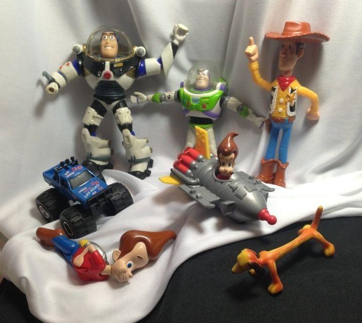 Disney Toys For Boys : Disney pixar toy story mixed lot buzz other toys for