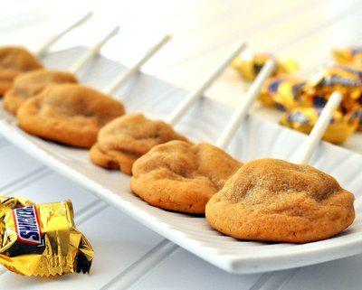 Snickers Cookies | Eat Dessert First | Pinterest