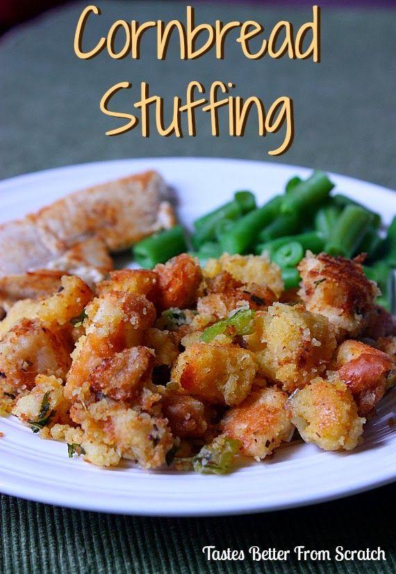 Cornbread Stuffing - My Favorite Thanksgiving Stuffing!