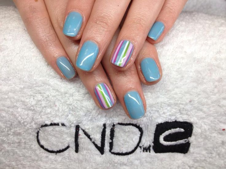 Cath Kidston Inspired CND Shellac nail art, simply stunning and 2