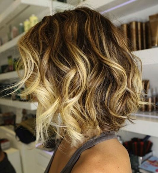 Shoulder Length Hairstyles With Ombre : Shoulder length ombr? hair medium and bobs