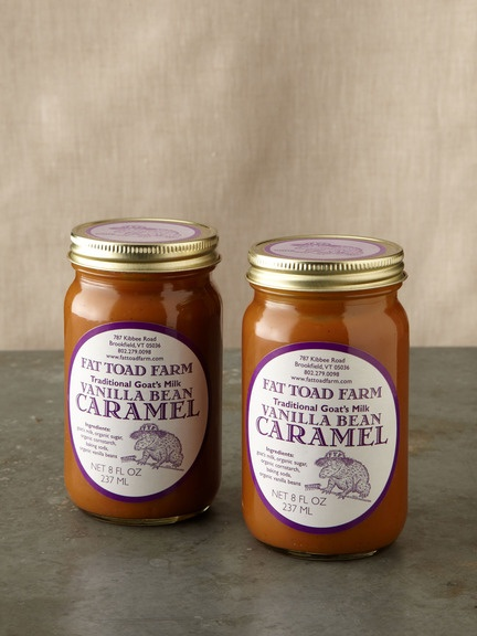 Fat Toad Farm - Vanilla Bean Goat's Milk Caramel - so good you can eat ...