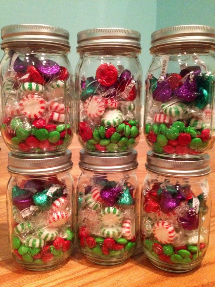 Diy Christmas Mason Jar Gifts Crafts Pinterest