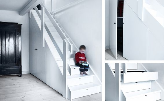 10 radical staircases for tight spaces by - Tight space staircase design ...