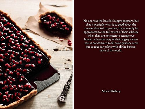 Chocolate Pomegranate Tart by pastryaffair, via Flickr