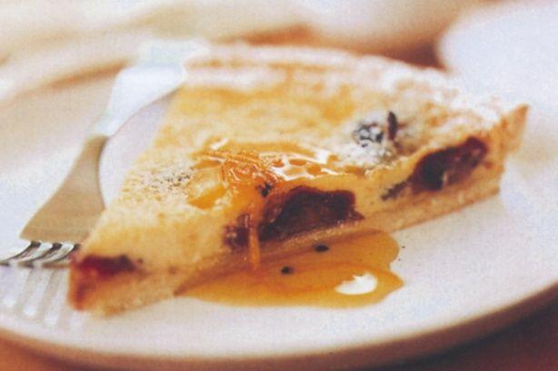 Orange & date tart, cardamom syrup | Favorite Recipes | Pinterest