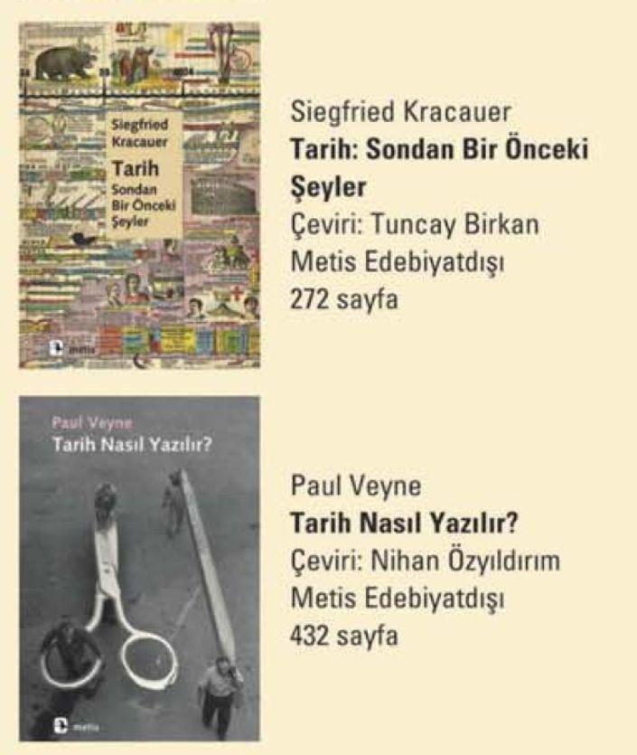 Tarih kitapları