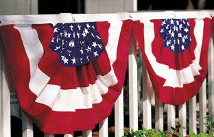 american bunting flag