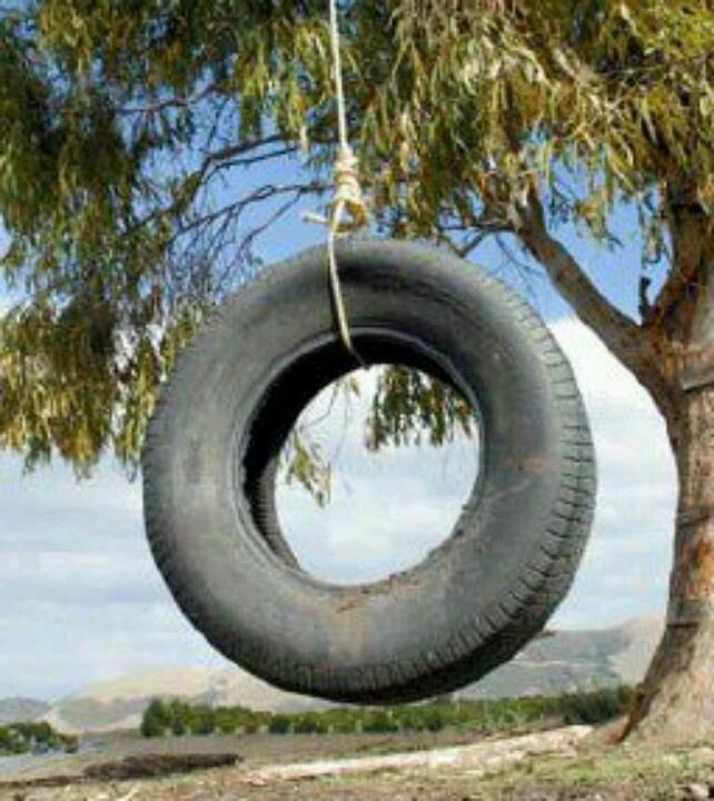 tire swing remember pinterest