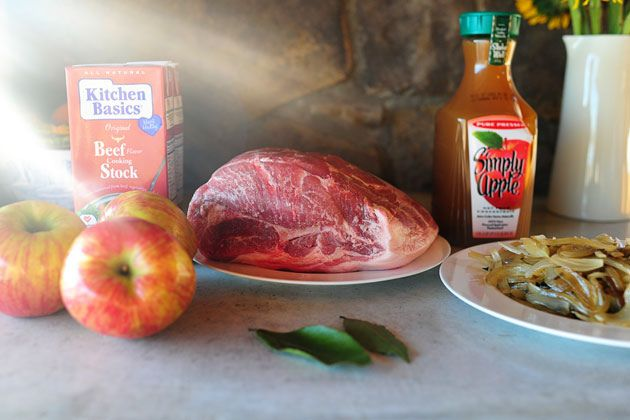 Pork Roast with Apples and Onions | Recipe