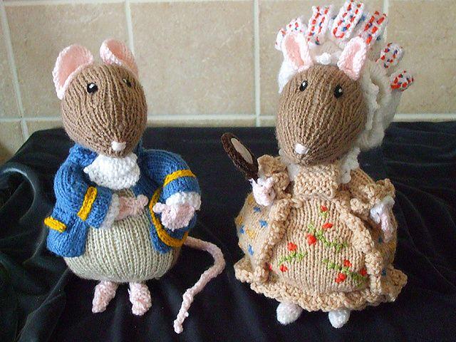 Ravelry tailor of gloucester lady mouse pattern by alan dart