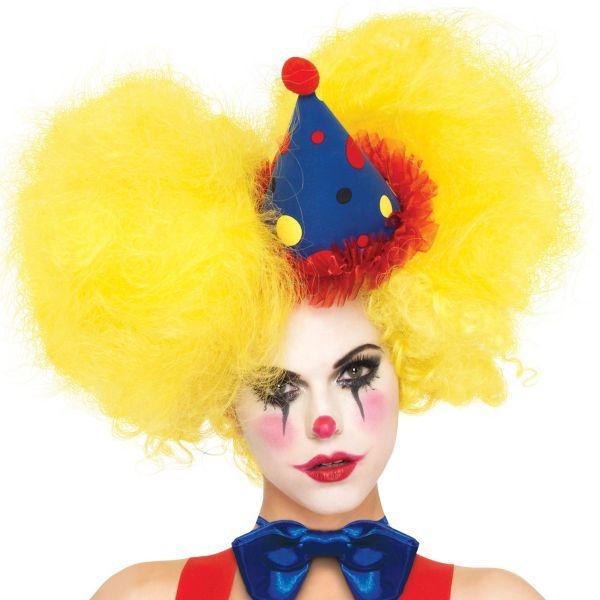 Yellow Clown Wig 96