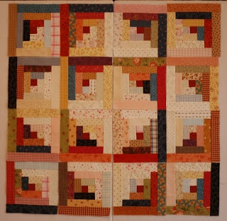 Serendipity Patch Log Cabin Layout Quilts Pinterest