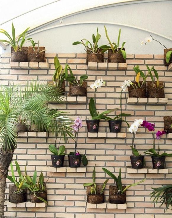 Repisas para plantas macetas plantas y jardineras - Plantas para jardineras ...